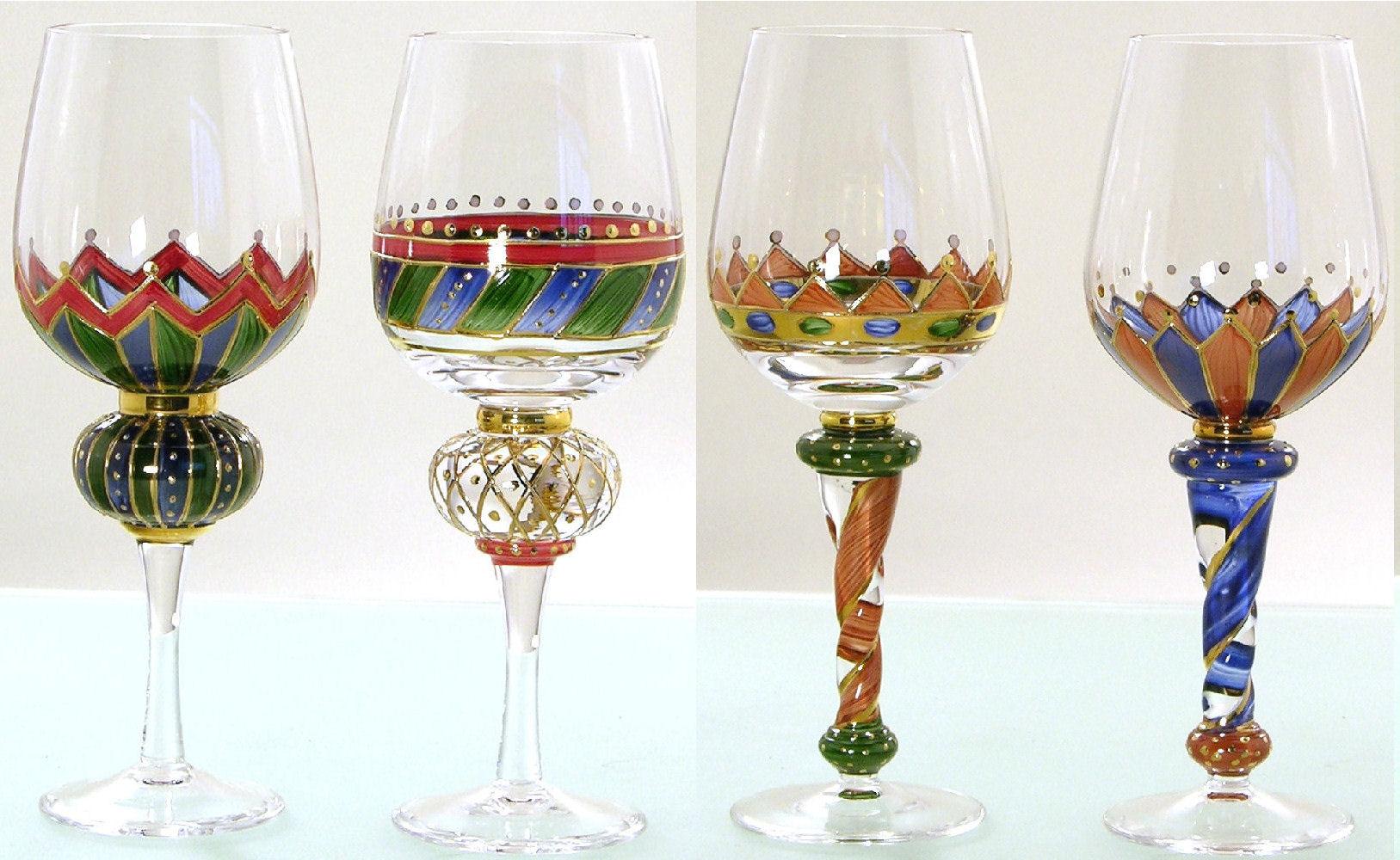 2200301 Lu00d6WENHERZ Weinru00f6mer Dekor 1 H. 20 Cm Wein Glas Rotweinglas Weinglas | EBay